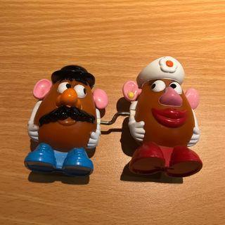 蛋頭先生與蛋頭太太 玩具 絕版
