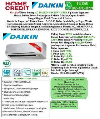 AC DAIKIN STC15NV 0,5PK Cicilan tanpa kartu kredit