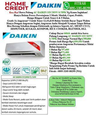AC DAIKIN STC20NV 0,75PK Cicilan tanpa kartu kredit