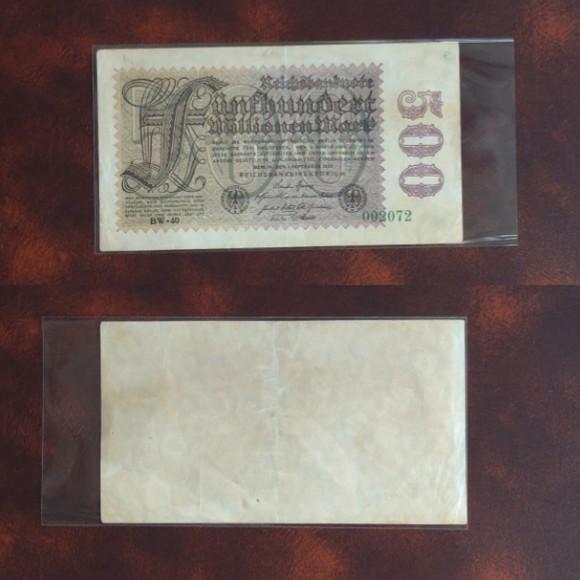 1923年德國馬克500百萬1張