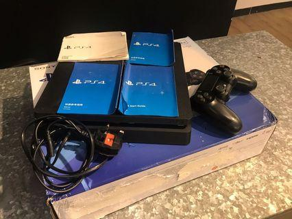PS 4 Jet Black 500GB