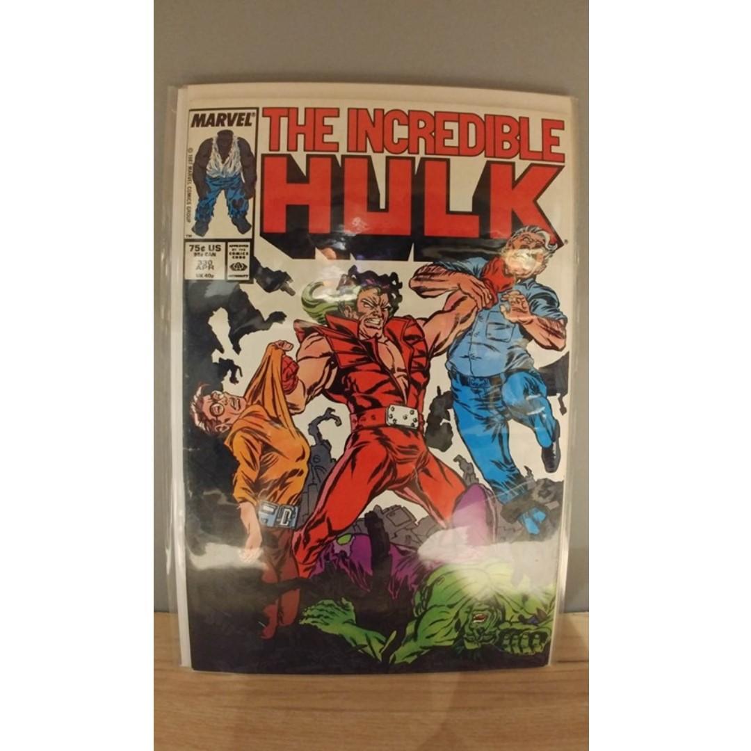 1st Todd McFarlane on the Incredible Hulk Incredible Hulk (1962-1999 1st Series) # 330
