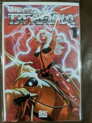 Heavy Metal Taarna issue #1 Alex Ross cover