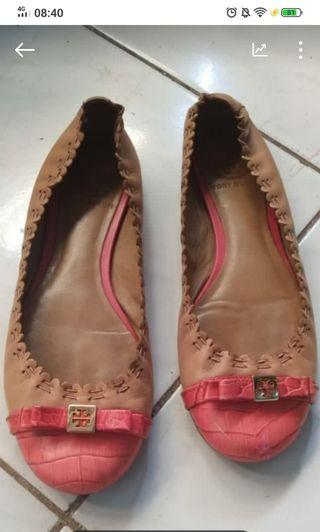 Tory shoes pink brown