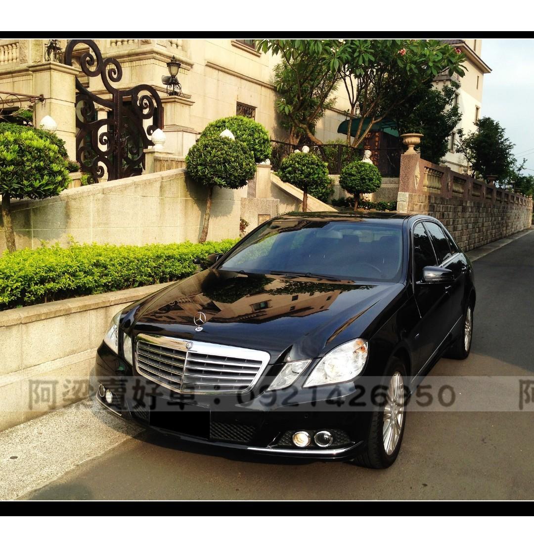 2011年 - 賓士 - E200 ✔免頭款✔找錢✔超額貸✔0元交車.輕鬆低月付.『全額貸.低利率』買車不是夢想.歡迎加 LINE.電(店)洽