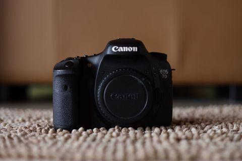Canon 7D Body SC36K only