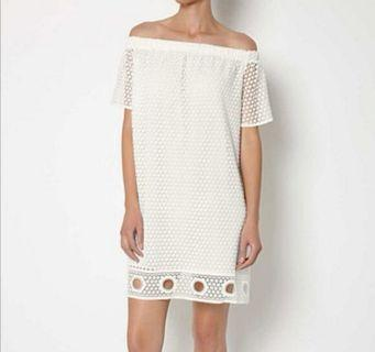 Witchery White Off Shoulder Dress