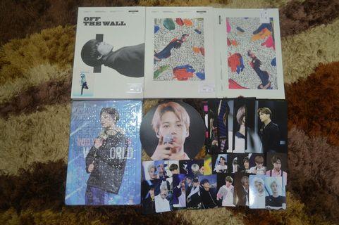 Kai's fansite MR DESTINY's photobook OFF THE WALL full set.