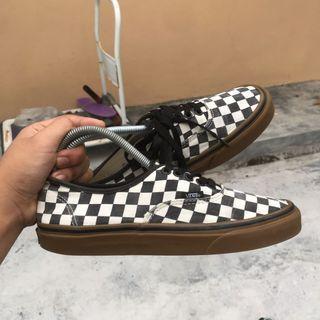 Vans Checkerboard Gumsole