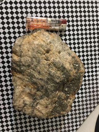 1957公克愚人金混水晶結晶原礦