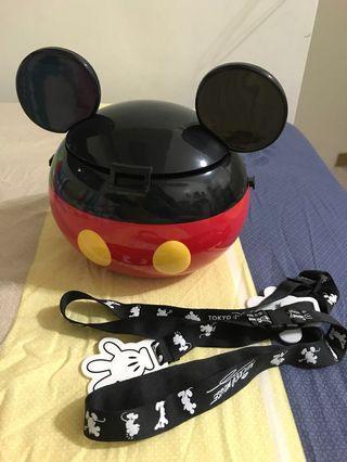 迪士尼米奇爆米花桶