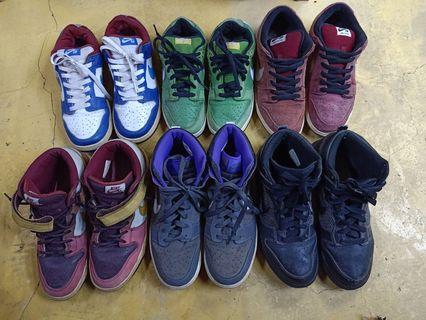 Nike SB Dunk Low,Mid,High