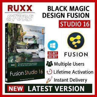 [FREE 3 SOFTWARE] Blackmagic Design Fusion Studio 16 Full Version Lifetime