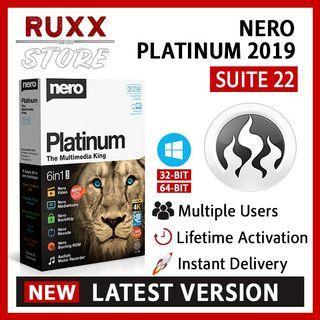 [FREE 3 SOFTWARE] Nero Platinum 2019 Suite 22 Full Version Lifetime