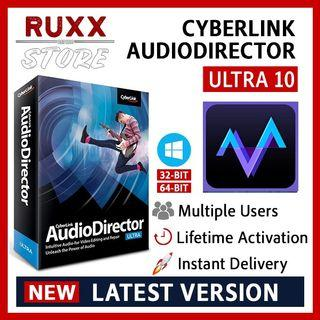 [FREE 3 SOFTWARE] CyberLink AudioDirector Ultra 10 Full Version Lifetime