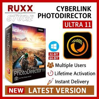 [FREE 3 SOFTWARE] CyberLink PhotoDirector Ultra 11 Full Version Lifetime