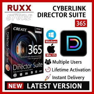[FREE 3 SOFTWARE] CyberLink Director Suite 365 8 Full Version Lifetime