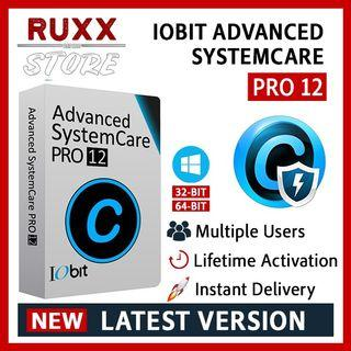 [FREE 3 SOFTWARE] IObit Advanced SystemCare Pro 12.6 Full Version Lifetime