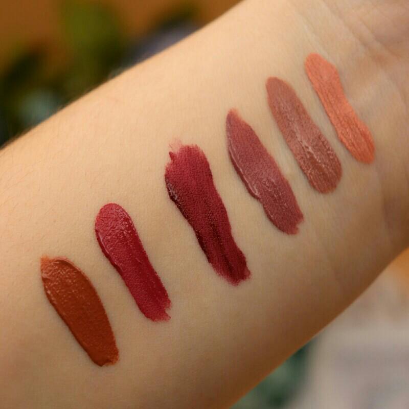 6 Colors Matte Lipstick Set Waterproof Long Lasting Lip Gloss Nude Velvet Pigment Batom Women Fashion Lip Makeup