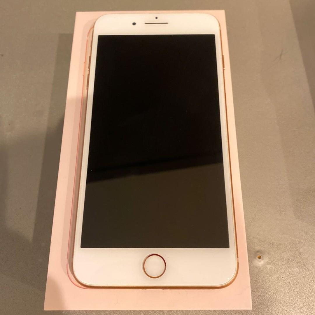 蘋果8 plus Apple iPhone 8 plus 256G 金色 98新空機 女用