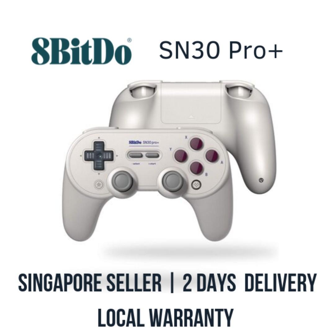 8bitdo SN30 Pro+ Bluetooth Controller (G CLassic) / Nintendo Switch Pro