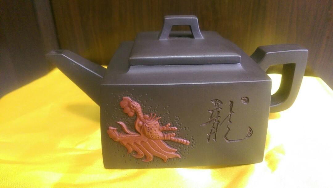 早期手工茶壺