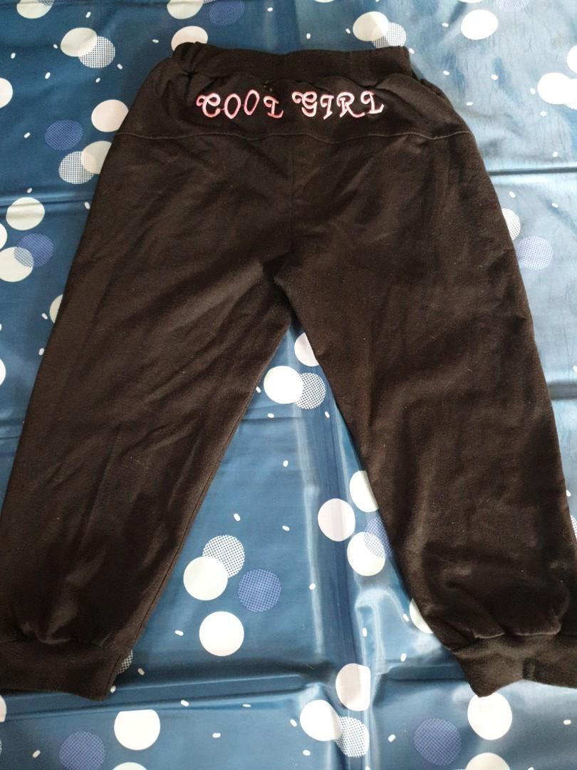 女童熊熊水鑽燈籠褲
