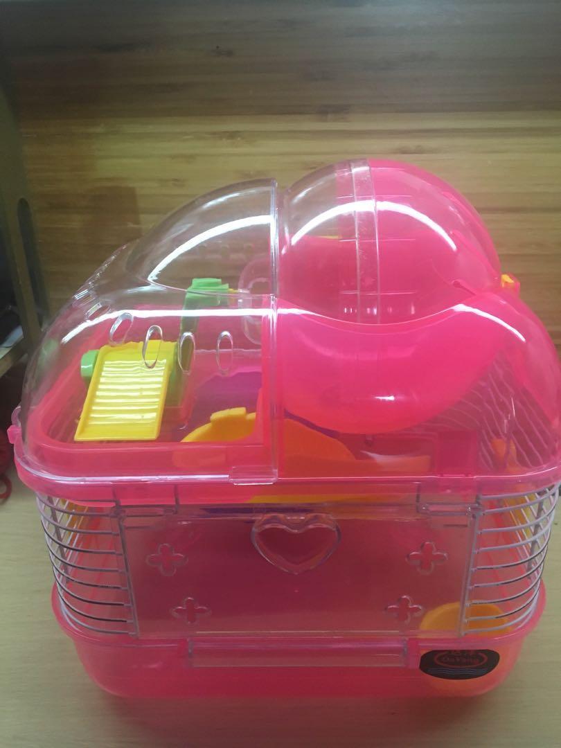 倉鼠用品,籠(住家/外出)鼠波,棉碎,浴池