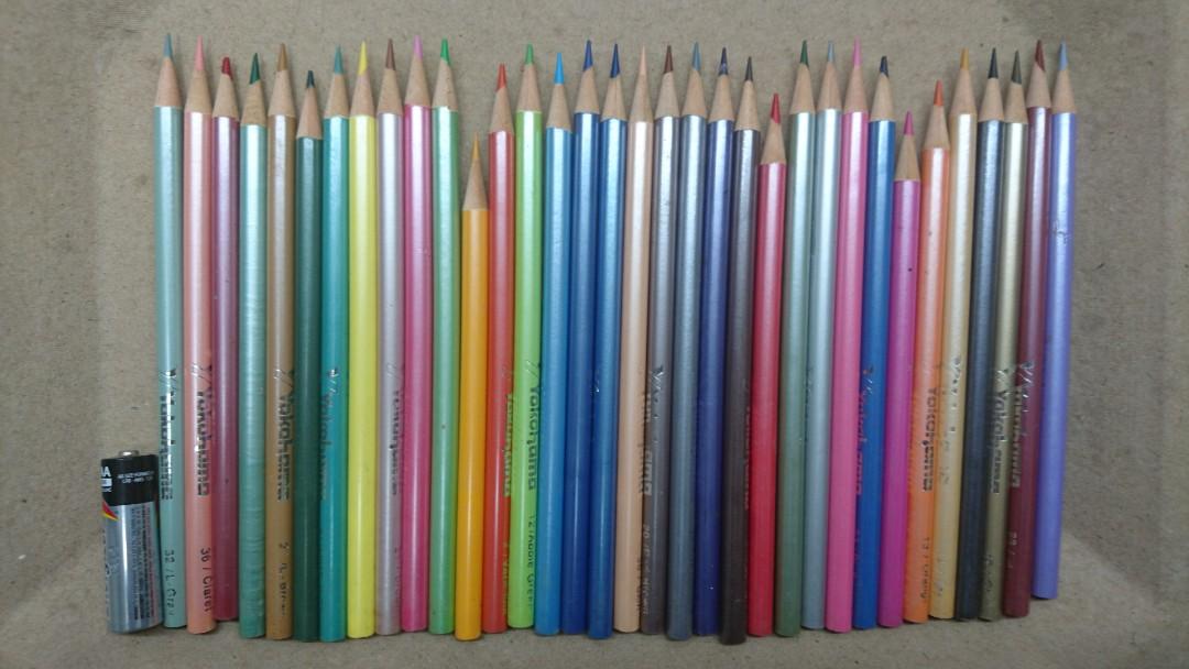 彩色鉛筆34色