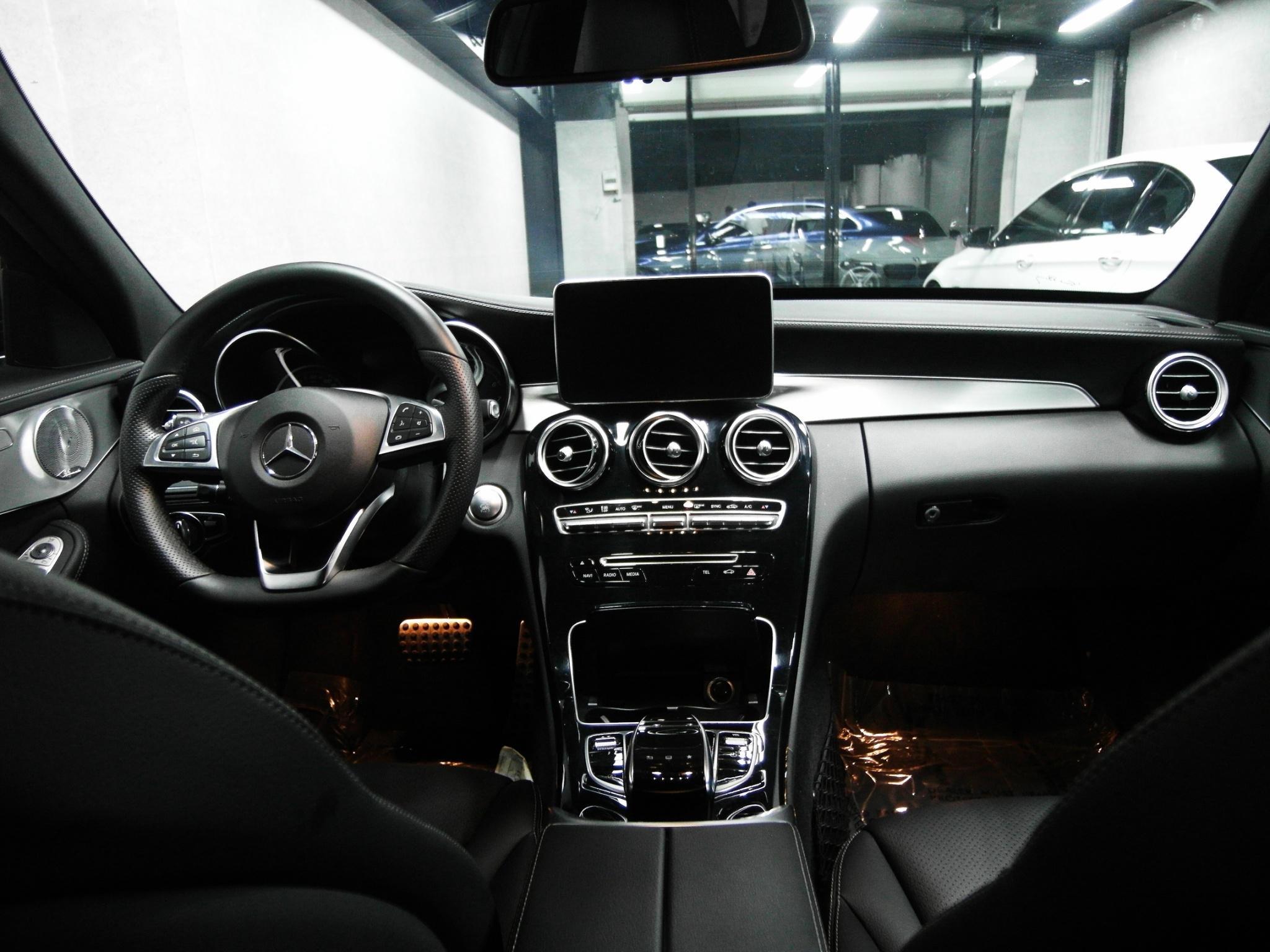 [現車] 2016 黑色  C300 AMG 雙魚眼  CPO