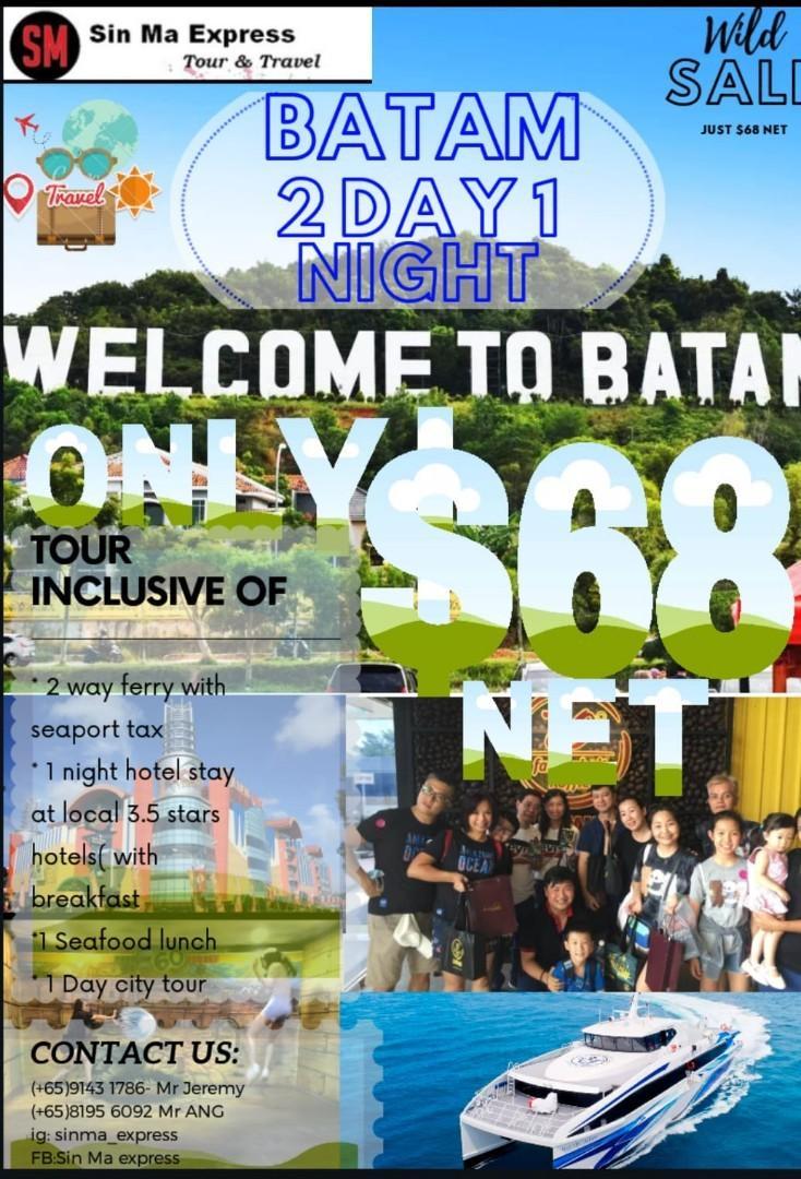 Batam tour 2D1N