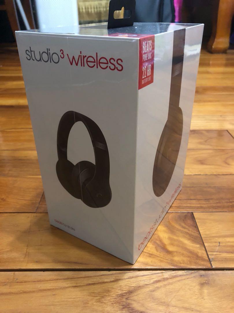 Beats studio3 wireless /Apple101直營貨/全新未拆