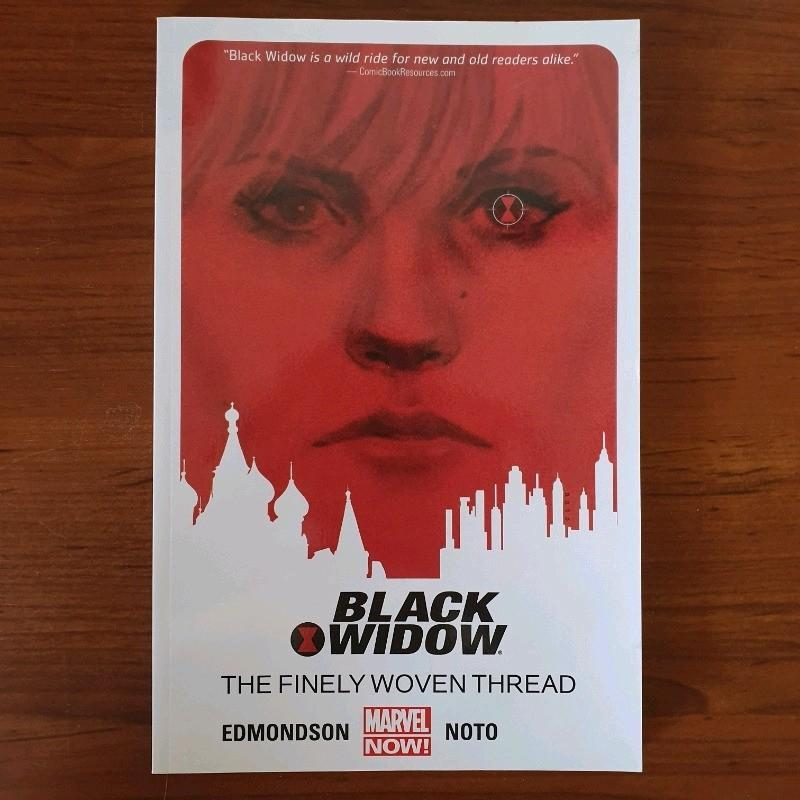 Black Widow 'The Finely Woven Thread' Volume 1 Comic Book Marvel