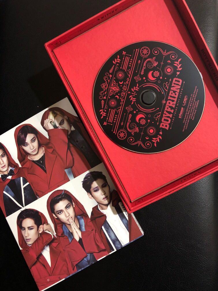 BOYFRIEND The Third Mini Signed Album