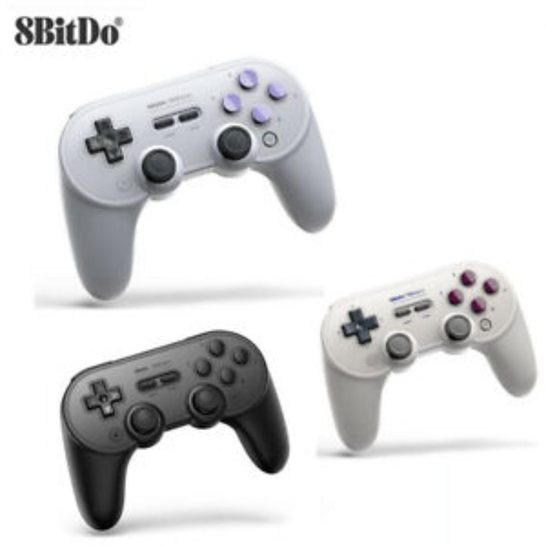 BRAND NEW SN30 Pro+ Bluetooth 8Bitdo Gamepad Controller Switch Compatible Gaming Console Android iOS MacOS Windows PC Mobile Handphone HP iPhone apple itouch ipad pad samsung galaxy windows xp vista 7 8 etc sn 30 pro