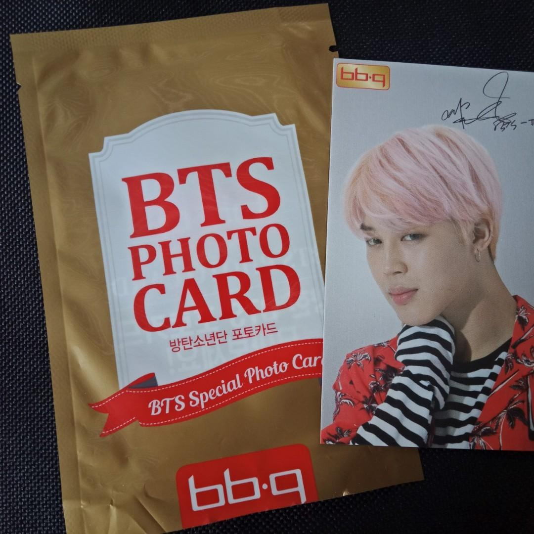 [BTS CLEARANCE SALE] Jimin Official Photocard - BBQ CF
