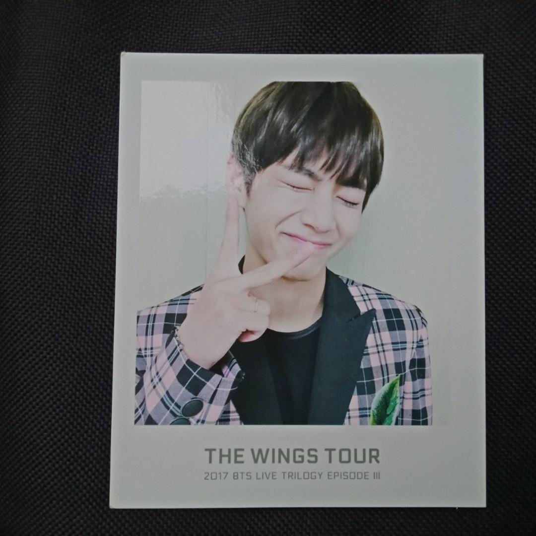[BTS CLEARANCE SALE] V Taehyung The Wings Tour - Ticket Album Official Polaroid