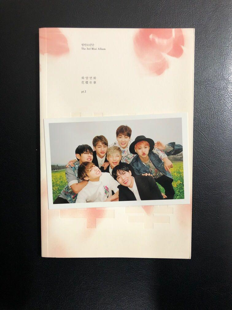 BTS HYYH PT1 SIGNED ALBUM
