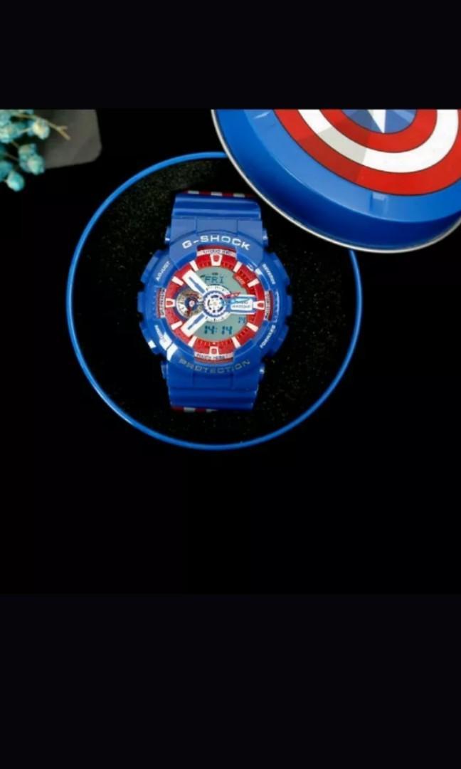 Casio Gshock Captain America