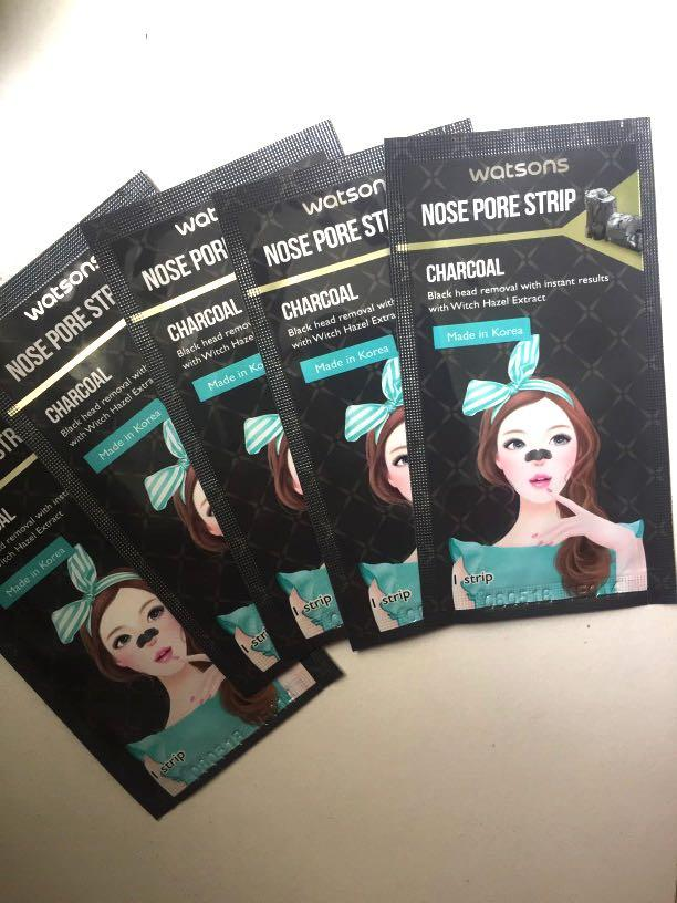 Charcoal Nose pore strips (with witch hazel extract)