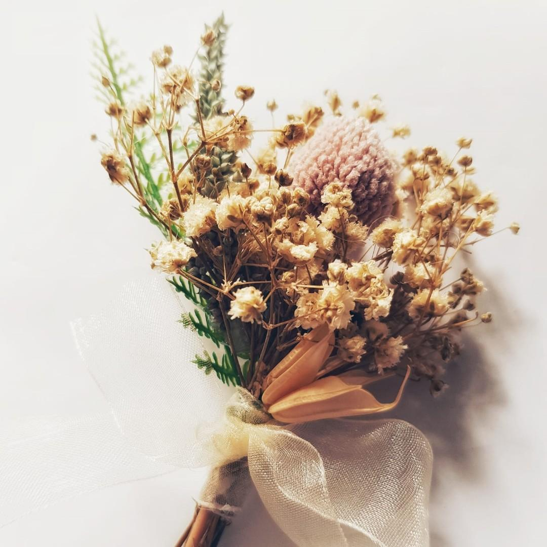 Cheap Wedding Corsage Gardening Flowers Bouquets On Carousell