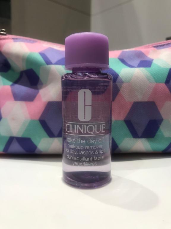 Clinique Take The Day Off Makeup Remover For Lids, Lashes & Lips