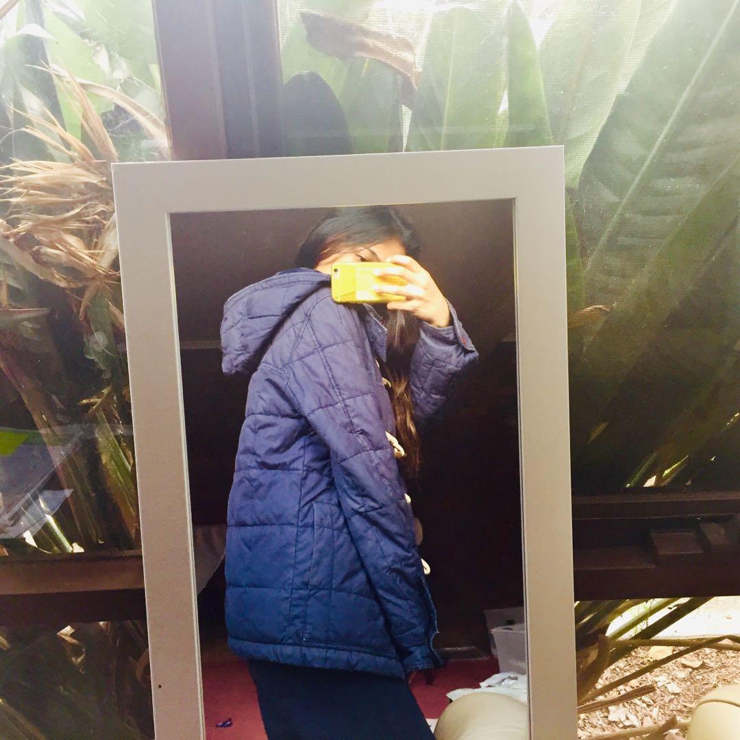 COUNTRY ROAD vintage blue Paddington coat / puffer jacket