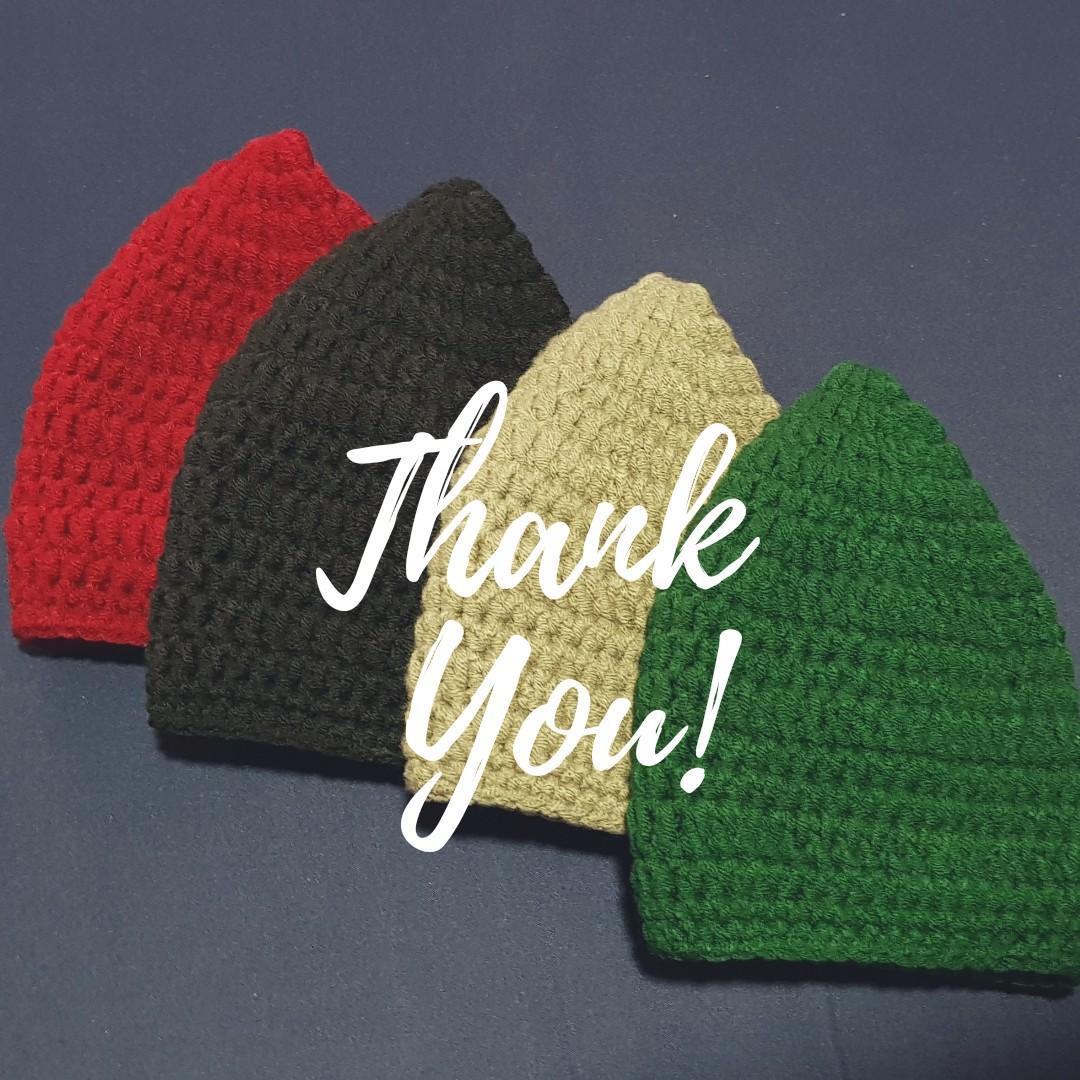 Crochet Songkok (Made-to-order)