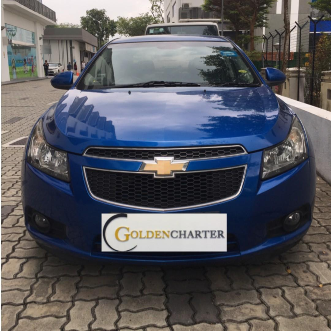 Cruze For Rent ! Rental Rebate Avail ! For Personal or PHV can enquire