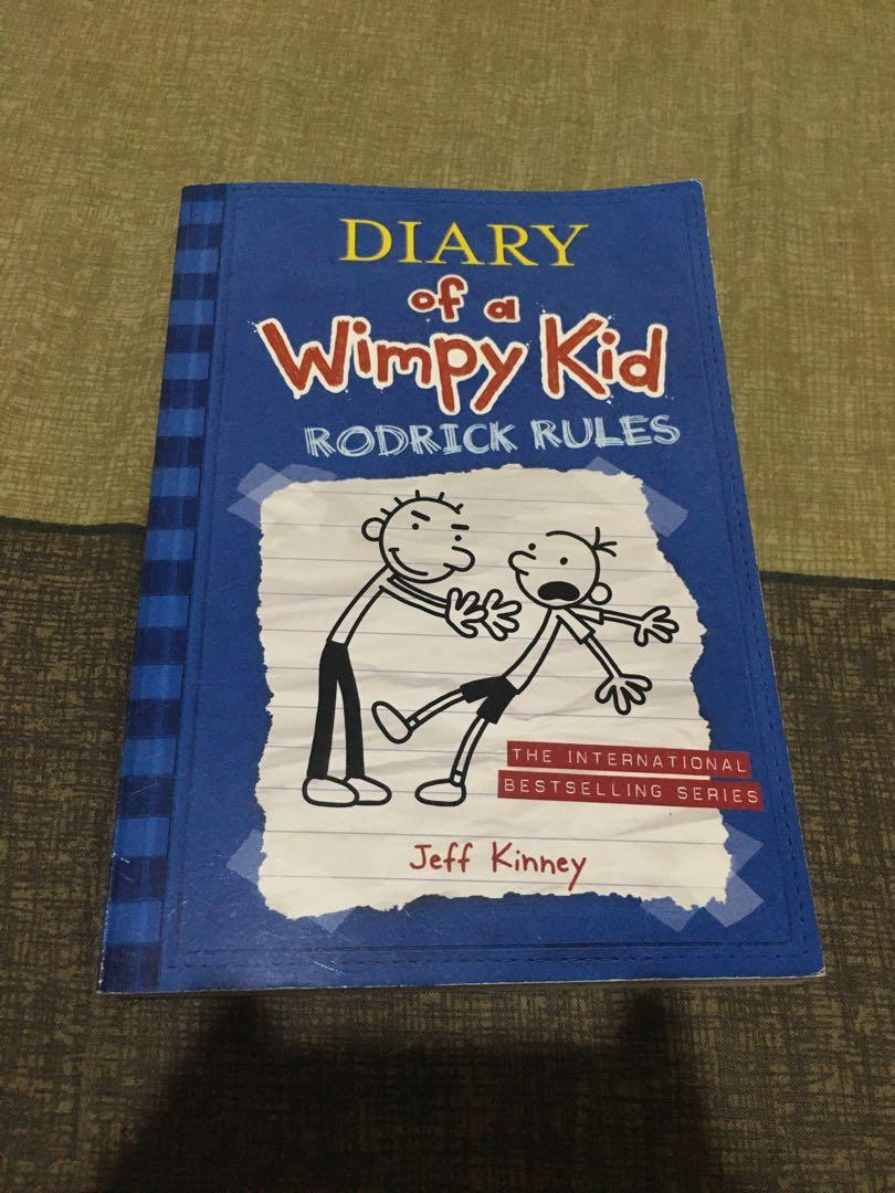 Diary of a Wimpy Kid (a novel in cartoons, rodrick rules, and the last straw) BUNDLE