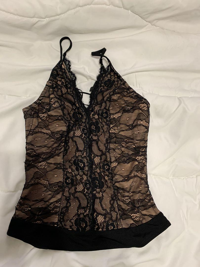 Dynamite Lace Body Top