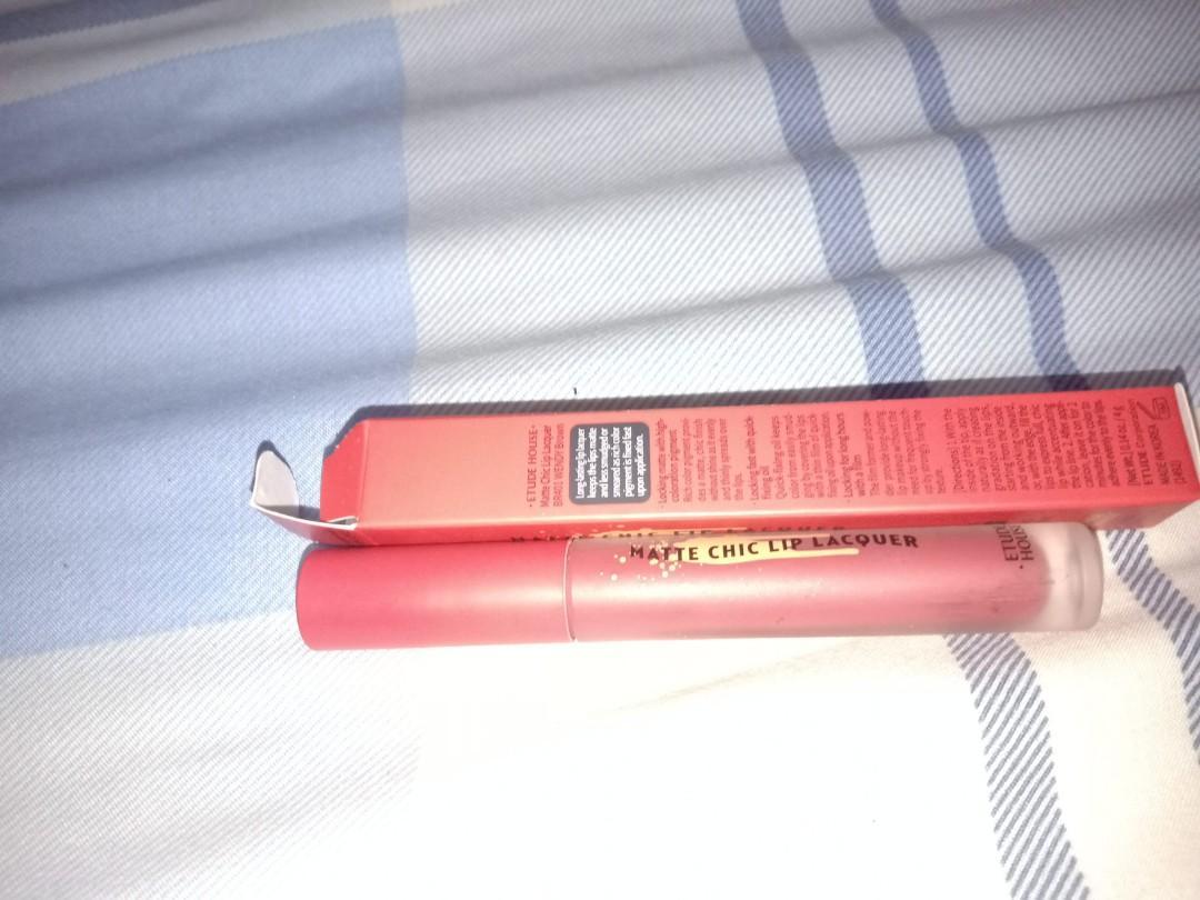 Etude lip lacquer matte BR401