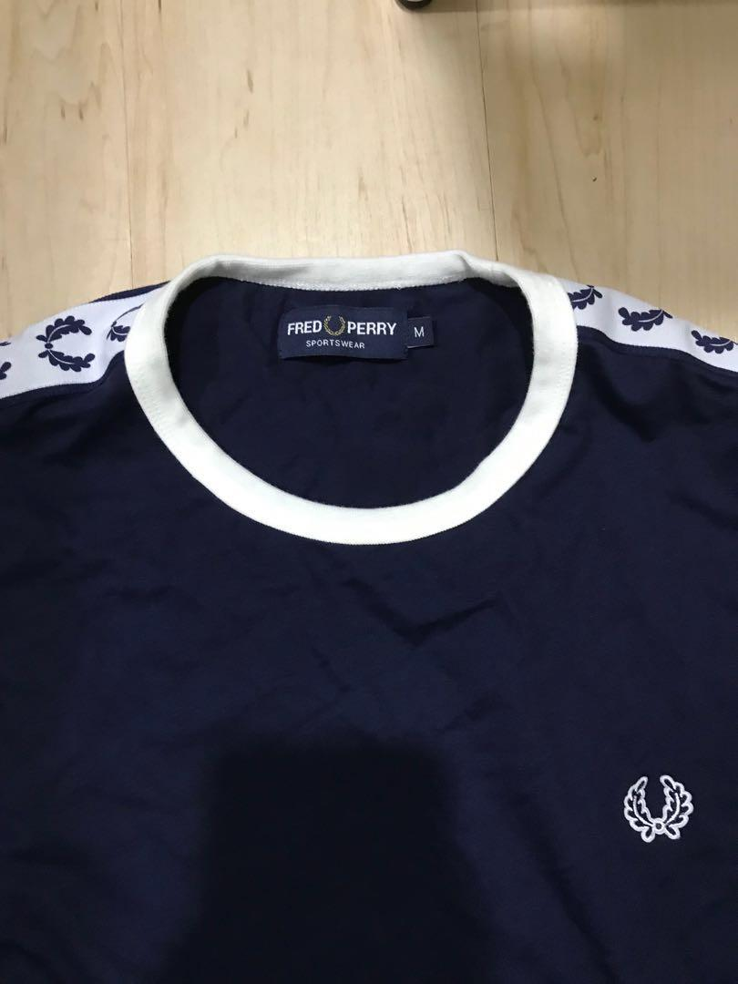 Freed Perry Sports Authentic Long Sleeve Taped Ringer T-shirt