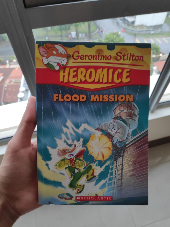 Geronimo Stilton Heromice: Flood Mission